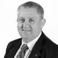 Council Mark Spencer black and white