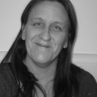 Mandy Carpenter black and white