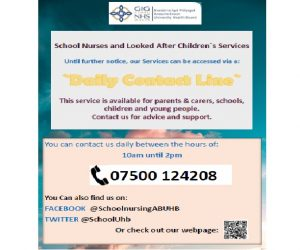 Look after children poster